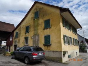 Vor der Fassadenrenovation