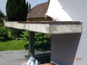 Fassadenrenovation Familie Heinzer