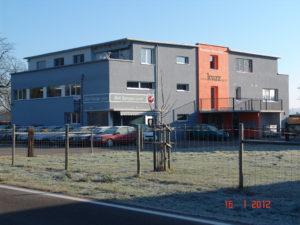 Werkhof der Kurz Fassadenrenovations AG in Ellikon an der Thur
