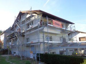 Aussenwärmedämmung und Malerarbeiten in Rickenbach Sulz