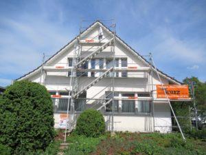 Reparaturarbeiten und Malerarbeiten Gemeindehaus Neftenbach
