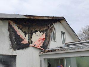 Brandsanierung in Aesch bei Neftenbach