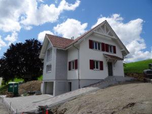 Aussenwärmedämmung in Neftenbach