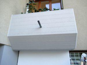 Kittanschlüsse, Reparaturen an der Fassade